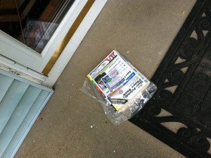 My latest phone book is still on the front porch