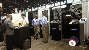 Trade show booth example